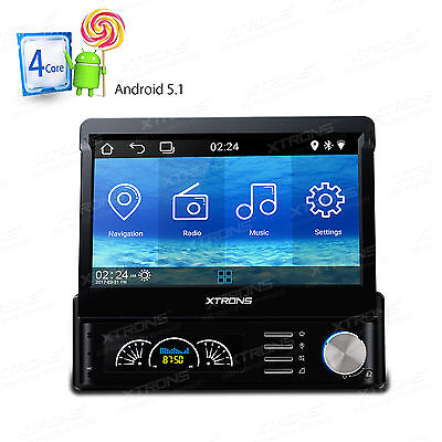 "XTRONS 3"" Car DVD Player Single 1 Din Stereo Radio Bluetooth Touch FM Head Unit"