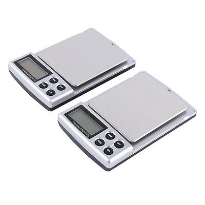 New Portable Digital Pocket Weighing Balance Scale 2000g / 0.1g DE