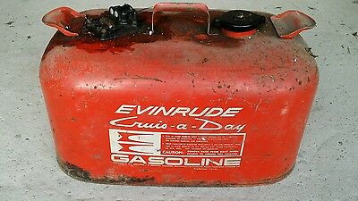 Evinrude Outboard Boat Engine Fuel Tank