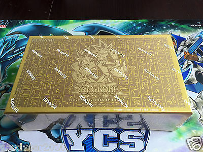1x Yugi's Legendary Decks Collection YGLD 1. Auflage OVP Yu-Gi-Oh! Karten Götter