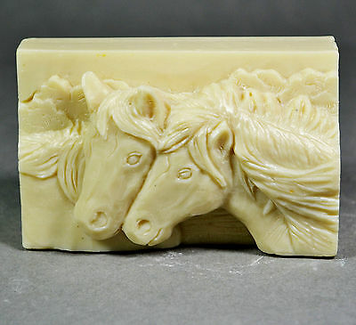 Horse Soap Silicone Mold Resin Wax Plaster Mould