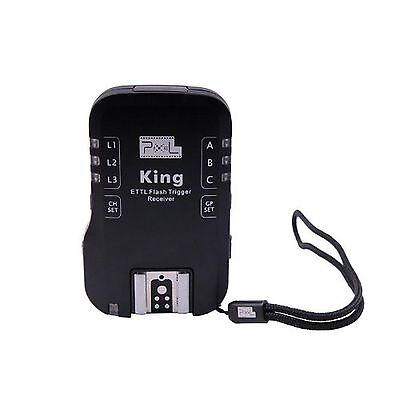 CameraPlus® Pixel King Wireless E-TTL Extra Receiver Flash Trigger for Canon
