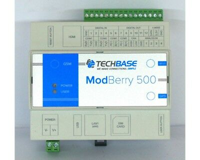 Embedded PC Raspberry PI computer ModBerry MAX 500 barra DIN