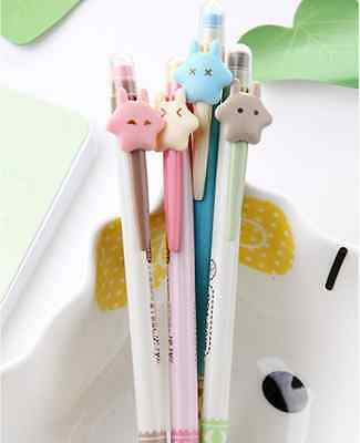 4pcs-0.7mm Lovely Cartoon Stars Mechanical Pencils Kids Stationery Gift ZXB69A