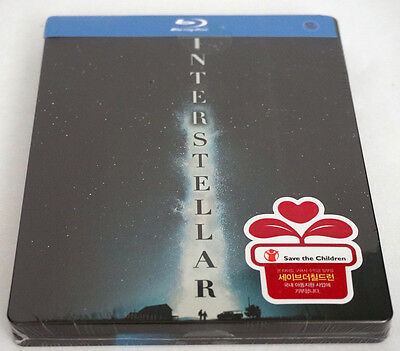 Interstellar ( 2 Disc Blu-ray ) STEELBOOK / Korea Limited / Region A