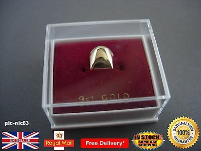 Genuine 9ct solid gold tooth teeth cap **Brand New**Same Day Dispatch**