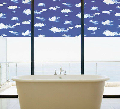 """Clouds Static Cling Window Film, 36"""" Wide x 10 ft"""