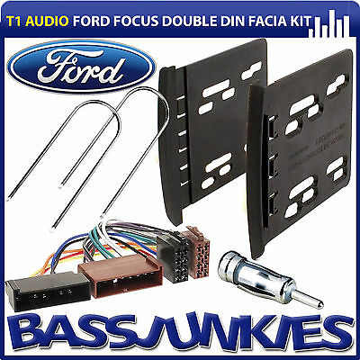 Ford Focus MK1 Double Din Car Stereo Fascia Panel Bracket & Fitting Kit CT23FD56