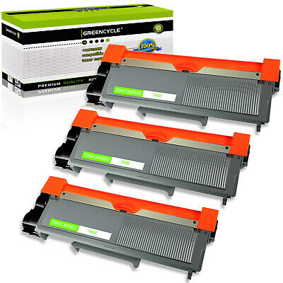 3PK TN660 TN-660 Toner Cartridge For Brother DCP-L2520DW DCP-L2540DW HL-L2300D