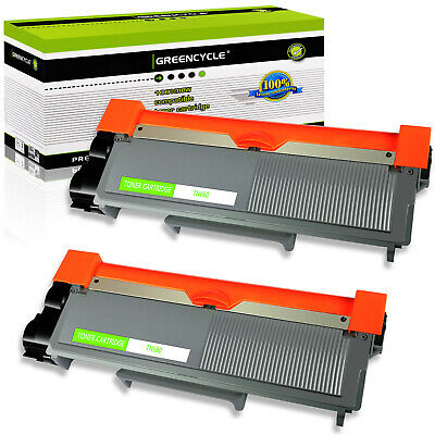 2PK TN660 TN-660 Toner Cartridge For Brother DCP-L2520DW DCP-L2540DW HL-L2300D