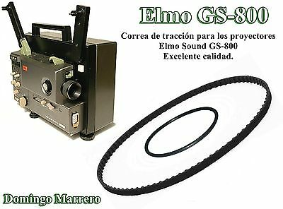 Correa Proyector Super 8 - Elmo Sound GS-800