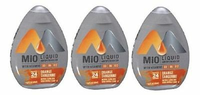Mio Orange Tangerine Liquid Water Enhancer 3 Bottle Pack