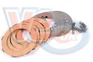 Vespa PX T5 Cosa Clutch Plate Kit 4 Corks With Steels For Late Type Clutch
