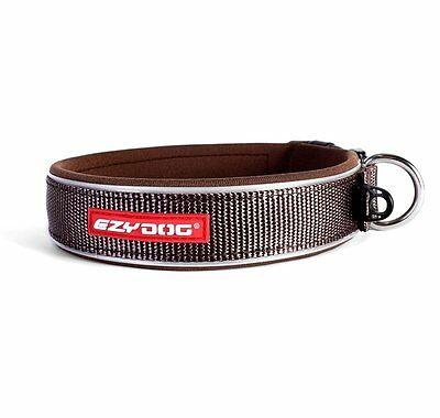 Ezydog Neo Dog Collar - Extra Large - Chocolate Brown - Free Delivery