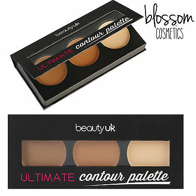 Beauty UK Ultimate Contour Palette Makeup Bronzing Bontouring Highlighting Kit
