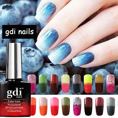 gdi nails London Colour Changing Soak Off UV/LED Varnish Salon Gel Nail Polish