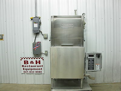 Hobart AM14 Pass Through Dishwasher Dish Washing Machine Single 1 Phase