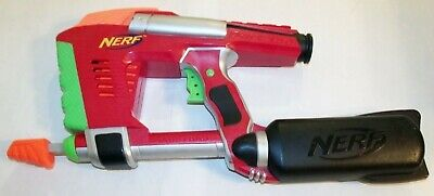 NERF Dart Tag Magstrike Black Red Gun With 10 Dart Clip 2006 Tested Working