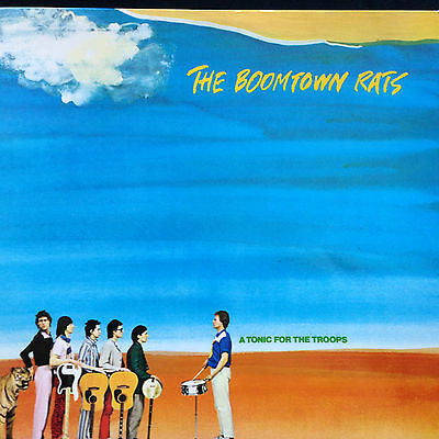 "Boomtown Rats # A Tonic For The Troops # 12"" Vinyl Album # Ensign Records 1978"