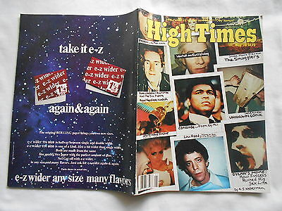 High Times Magazine -Vintage Issue High Times Magazine-May,1978-Johnny Rotten