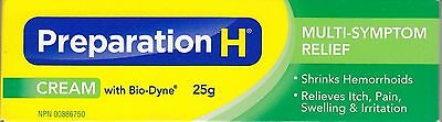 Canadian Preparation H Cream With Bio-Dyne Multi-Symptom 25g Canada Wrinkles