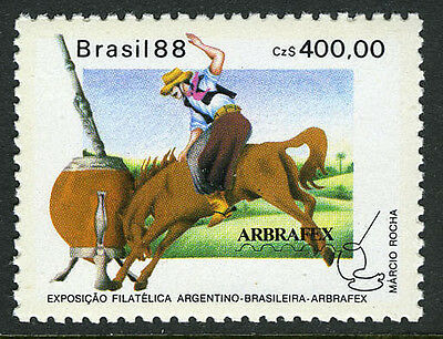 Brazil 2156, MNH. ARBRAFEX Philatelic Exiition of Argentina & Brazil. Bull, 1988