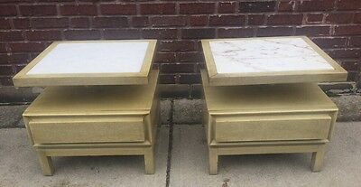 Vintage Pair Of Mid-Century American of Martinsville Nightstands End Tables