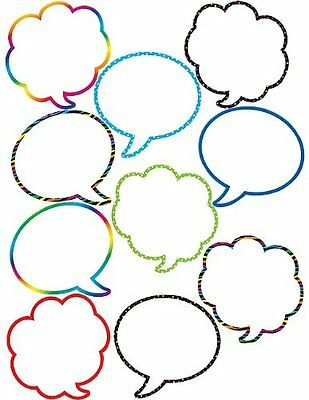 Teacher Created Resources Speech/thought Bubbles Accents NO TAX FREE SHIPPING