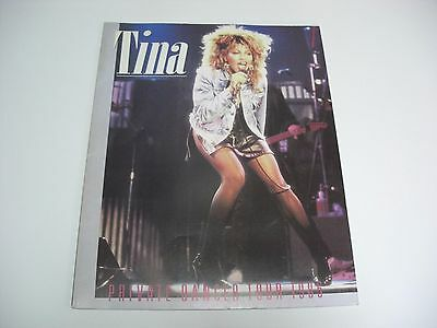 TINA TURNER PRIVATE DANCER TOUR '85 JAPAN TOUR BOOK Mick Jagger