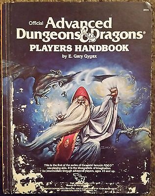 TSR Players Handbook (2nd Cover)