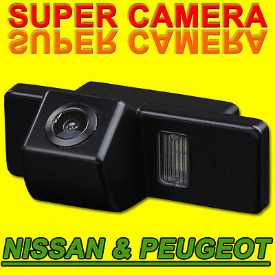 Car Rear View Backup Camera For Nissan X-Trail Qashqai Peugeot 307 Sunny Geniss