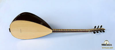 Turkish Professional Short Neck Wenge Baglama Saz