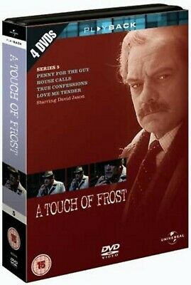 TOUCH OF FROST COMPLETE SERIES 5 DVD Box Set Brand New Sealed UK Release R2