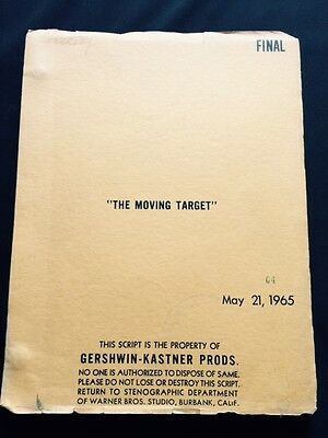 "The Moving Target (Released As ""harper"") - Original Script By William Goldman"