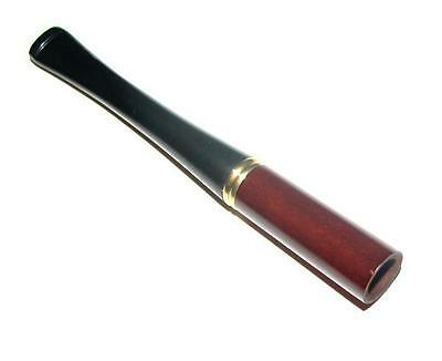 3.5 Wooden Short Cigarette Holder for regular size Mouthpiece