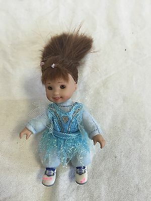 """ONLY HEARTS CLUB Lil Kid Girl Sister Poseable 4"""" Soft DOLL Play Toy GUC"""