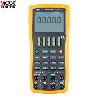VICTOR 14+ Temperaure Process Calibrator ,High Accuracy of 0.02% !!NEW!! VC14+