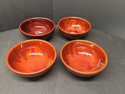 """Mar-Crest Oven-Proof Stoneware 5.5"""" Bowls Set of 4 FREE SHIPPING"""