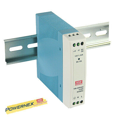 MEAN WELL [PowerNex] NEW MDR-10-5 5V 2A Single Output Power Supply LED Driver