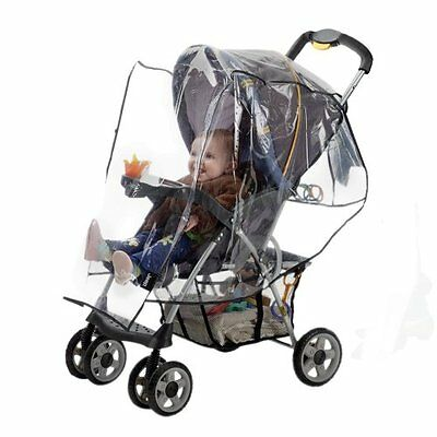 Jeep Standard Stroller Weather Shield, Single Stroller Cover, Baby Weather Prote