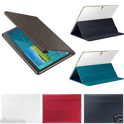 Slim Book Cover Case Stand For Samsung Galaxy Tab S 10.5 Inch SM-T800/T805