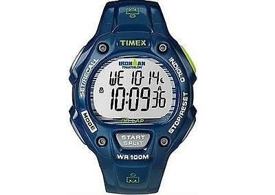 Timex Mens Ironman 24 Hour Chrono T5K618 Watch Blue New but Un-Boxed (No box)
