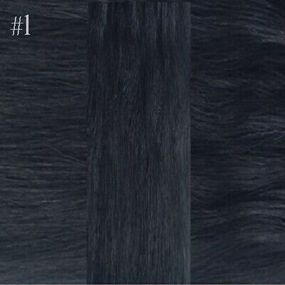 """16"""" 1G DOUBLE DRAWN Micro Loop Straight Remy Human Hair Extensions DIY SALON"""