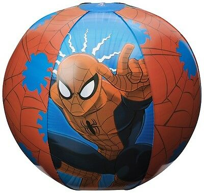 Marvel Ultimate Spiderman Inflatable Beach Ball- Approx 51cm/20""