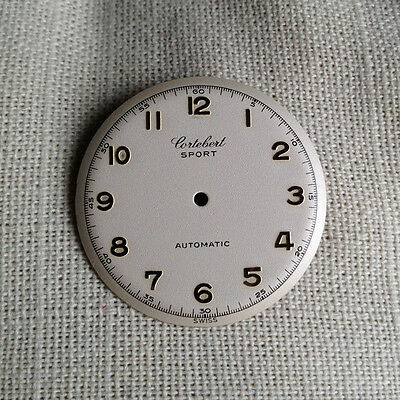 Cortebert  Sport Automatic old vintage dial 28.3mm silver