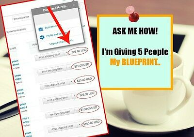 Learn how average people are making $500- $5,000/month using this simple system
