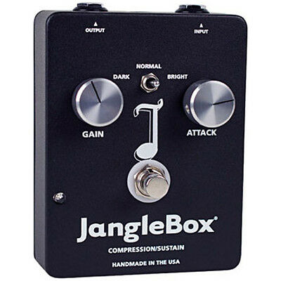 JangleBox Compressor/Sustainer Guitar Effects Stompbox FX Pedal