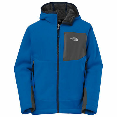 The North Face Boys Chimborazo Fleece Hoodie Jacket Terrarium Green NWT