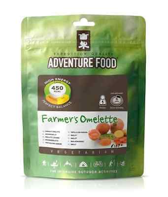 Adventure Food To Eat Dry Meal...Breakfast Farmers Omelette
