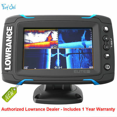 Lowrance Elite-5 Ti Touch Combo Chartplotter Fishfinder 000-12420-001